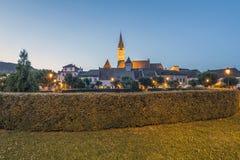St Margaret Church nei mezzi, Romania immagini stock libere da diritti