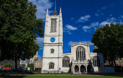 St. Margaret Church an Westminster Abbey in London, Großbritannien Stockbild