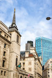St. Margaret Lothbury church in London Royalty Free Stock Photography
