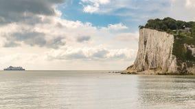 St- Margaret` s bei Cliffe, Kent, England, Großbritannien - 18. September 2017: Lizenzfreie Stockfotos