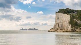St- Margaret` s bei Cliffe, Kent, England, Großbritannien - 18. September 2017: Lizenzfreies Stockfoto