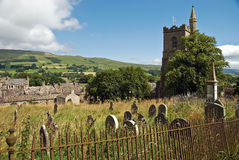 St Margaret's CHurch, Hawes Stock Photos