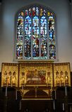 St  Margaret s church. Interior Royalty Free Stock Images
