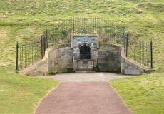 St Margaret's well. In Holyrood Park, Edinburgh, Scotland Stock Photography