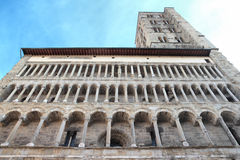 St. Maria church in Arezzo, Tuscany, Italy Stock Images