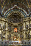 St. Maria Church in Los Arcos, Navarre. Spain. Royalty Free Stock Photography