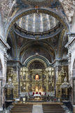 St. Maria Church in Los Arcos, Navarre. Spain. Stock Photography