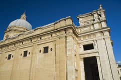 St. Maria degli Angeli Basilica. Assisi. Umbria. Stock Photography