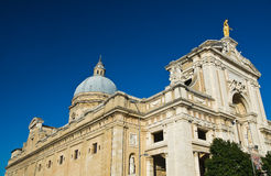 St. Maria degli Angeli Basilica. Assisi. umbria. Italy. Royalty Free Stock Photography