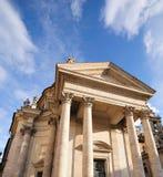St Maria dei Miracoli. Church of St Maria dei Miracoli in Piazza del Popolo in Rome, Italy Royalty Free Stock Image