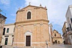 St. Maria della Pieta Church.San Vito dei Normanni.Puglia.Italy. Stock Photography