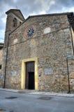 St. Maria delle Grazie. Montefalco. Umbria. Stock Photography