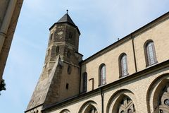 St. Maria im Kapitol church, Cologne, Germany Stock Photos