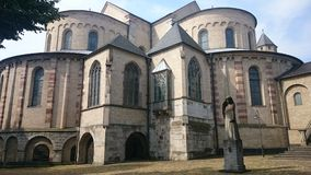 St Maria im Kapitol-kerk Royalty-vrije Stock Foto's