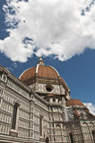 St. Maria Novella. View of the dome and the church of St. Maria Novella in Florence Royalty Free Stock Photo
