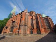 St Marien church in Luebeck Stock Photos
