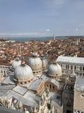 St Mark's钟楼,圣马可广场,威尼斯,意大利 图库摄影