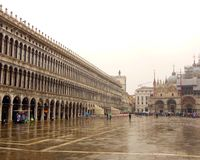 St Mark's piazza Wenecja z góry obraz royalty free