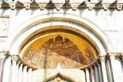 St Mark & x27; собор s, детали мозаики Стоковое Изображение