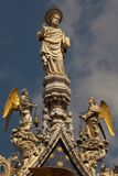 St Mark and Angels Stock Image