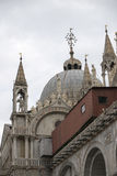 St.Mark Basilica fragment Stock Image