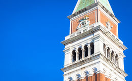 St Mark Campanile in Venice Stock Photos