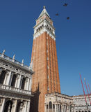 St Mark campanile in Venice Stock Images