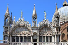St. Mark Cathedral in Venice stock photo