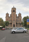 St. Mark Church in Belgrade, Serbia Royalty Free Stock Images
