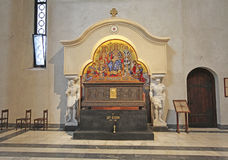 St Mark Church en Belgrado, Serbia Imagen de archivo