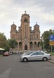 St Mark Church en Belgrado, Serbia Imágenes de archivo libres de regalías