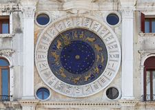 St Mark Clock Royalty-vrije Stock Foto's