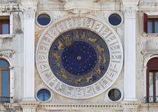 St Mark Clock Royalty-vrije Stock Foto's