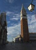 St Mark Glockenturm Stockfotografie