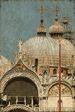 St Mark katedra w Wenecja - rocznik Zdjęcia Royalty Free