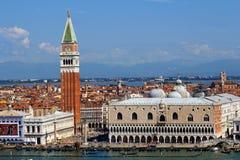 St Mark kvadrerar i Venedig, Italien Royaltyfri Bild