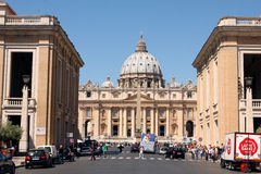 St Mark Place Vatican Rome Italy Royalty Free Stock Photography