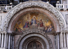 St. Mark's Arch and Mosaic Royalty Free Stock Photography