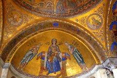 Free St Mark S Basilica Mosaics Venice Stock Photography - 73051612