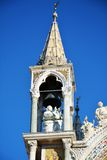 St. Mark`s basilica, stone detail, in Venice, Italy Royalty Free Stock Photo