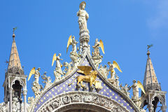 St Mark's Basilica, Venice Royalty Free Stock Photos