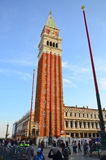 St Mark's Campanile - Campanile di Royalty Free Stock Photos