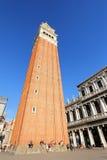 St Mark's Campanile (Campanile di San Marco) in Venice, Italy Stock Photography