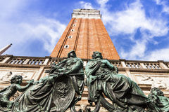 Free St Mark`s Campanile In Venice Royalty Free Stock Photos - 96779518