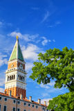 St Mark`s Campanile at Piazza San Marco in Venice, Italy Royalty Free Stock Images