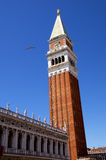 St Mark's Campanile in Venice Royalty Free Stock Photo