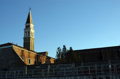 St Mark's Campanile in Venice Royalty Free Stock Image