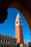 St Mark's Campanile in Venice - Italy Royalty Free Stock Photography