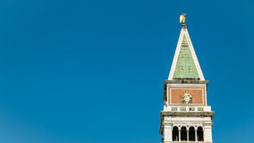 St Mark's Campanile, Venice, Italy Royalty Free Stock Photo