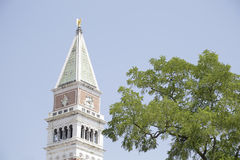 St Mark's Campanile, Venice, Italy Royalty Free Stock Images